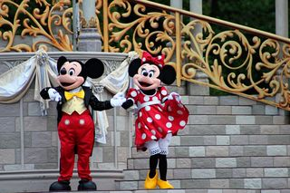 Magic Kingdom Mickey and Minnie